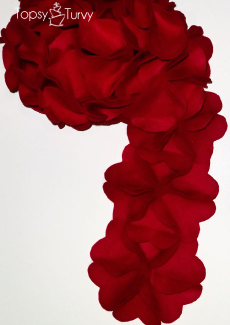 bulky-flower-hearts-felt-scarf-finished