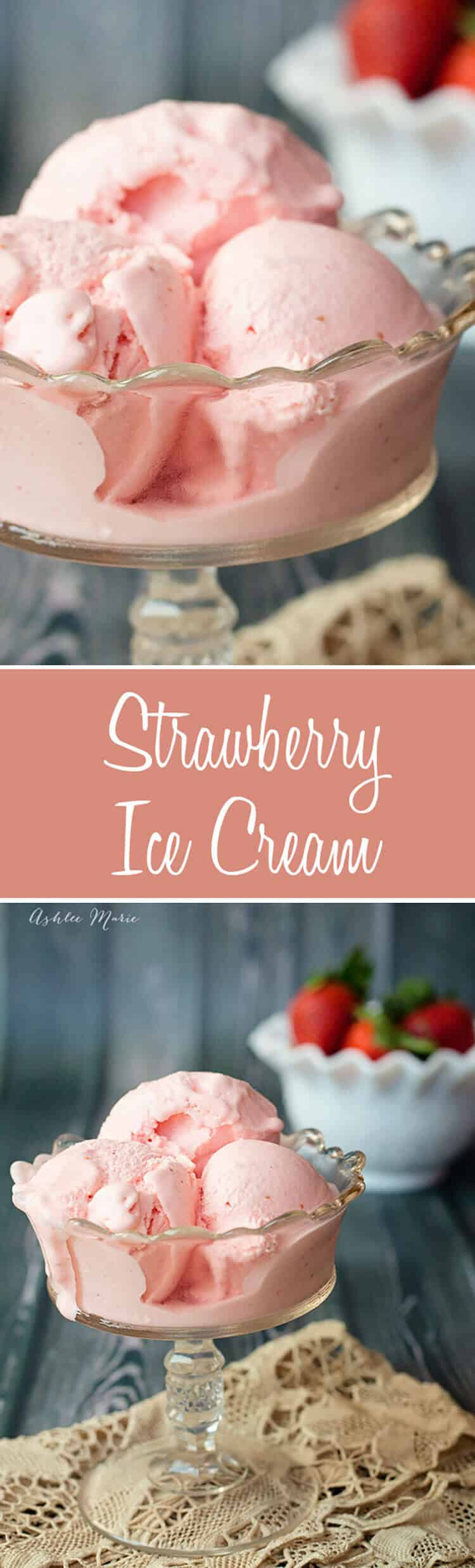 The Best Strawberry Ice Cream You Will Ever Have Creamy Smooth With Amazing Flavor