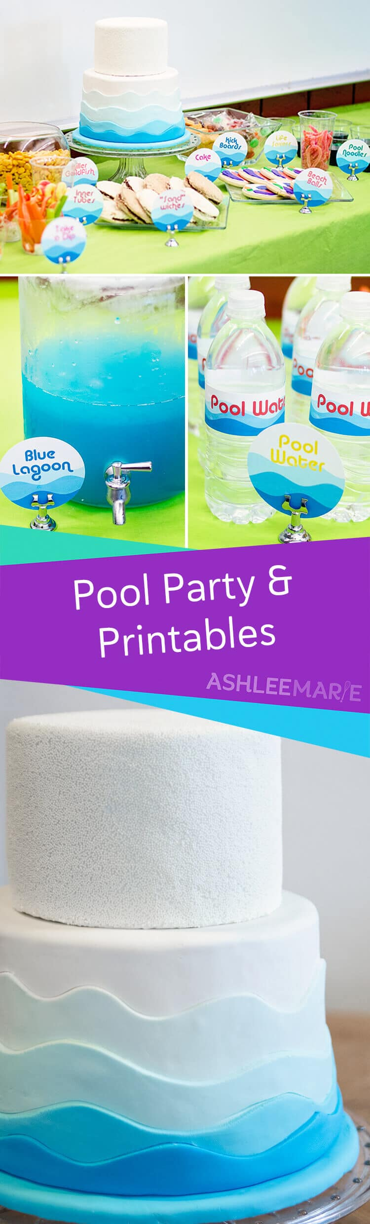 pool party and printables