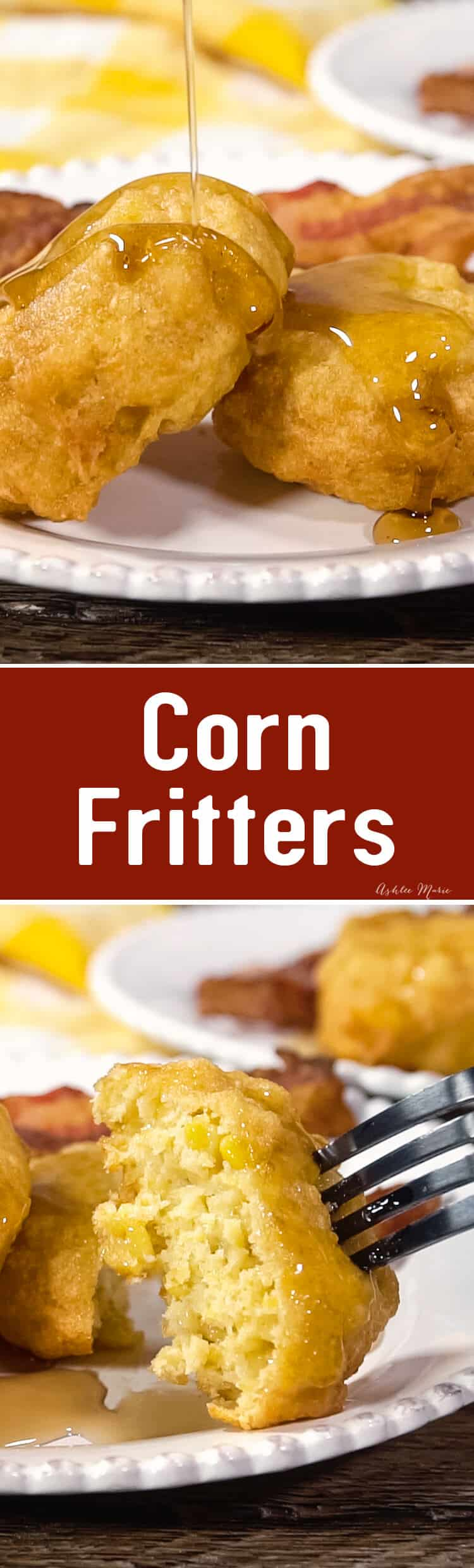 corn fritters are easy to make and taste amazing - my favorite breakfast - video tutorial