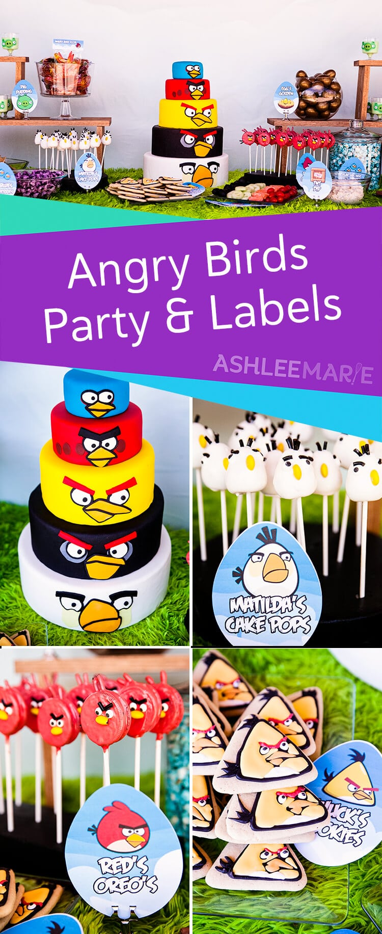 angry bird birthday party and free printables