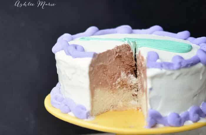 ice cream cake tutorial