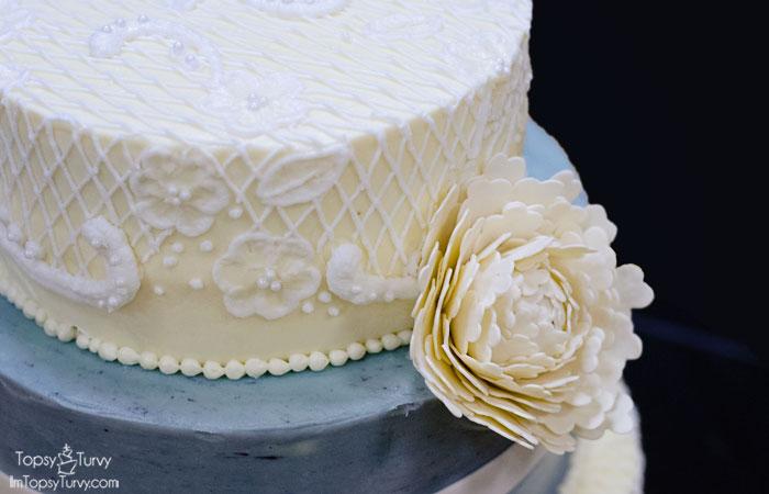 lace-buttercream-wedding-cake-gumpaste-peony