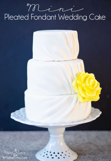 pleated-fondant-wedding-cake