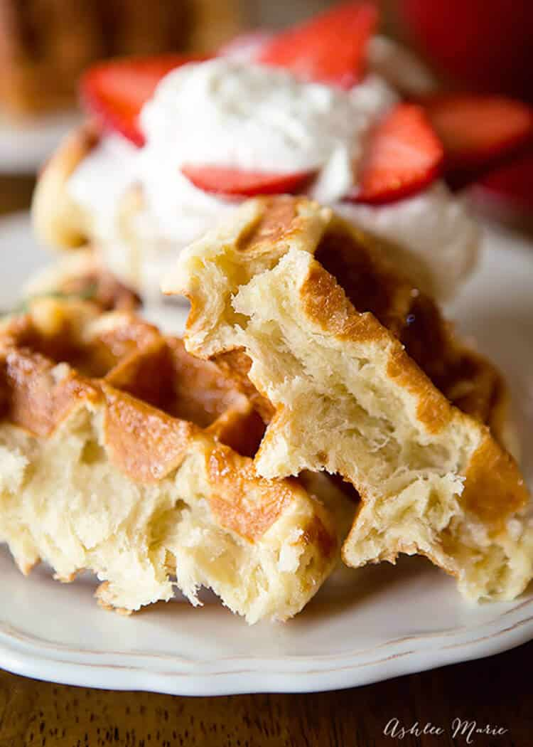 This is the authentic overnight liege waffle recipe, it will give you the most amazing flavor and texture