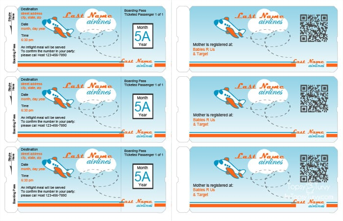 Airplane party printables ashlee marie real fun with real food airplane party printables filmwisefo