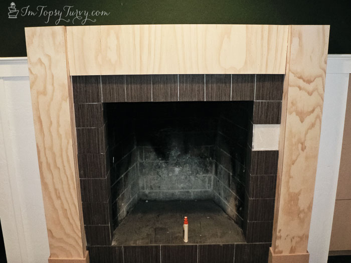 build-mantel-front