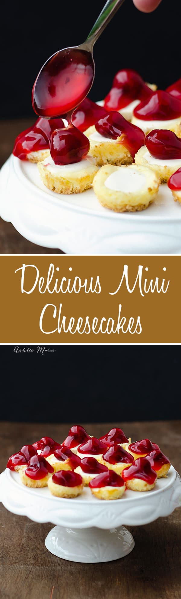mini cheesecakes are easy to make and are little bite sized pieces of heaven, they are great to serve at a party and are super easy to bake
