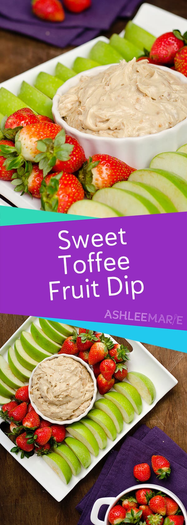 Easy Toffee Fruit Dip