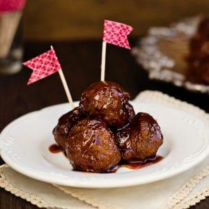 easy 3 ingredient sweet meatballs