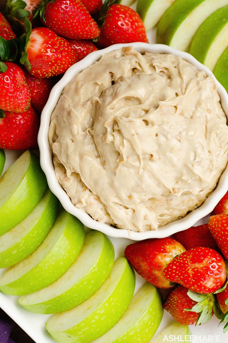 toffee fruit dip recipe
