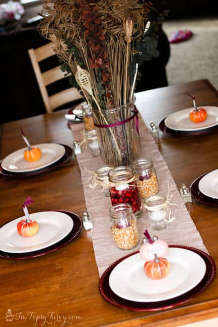 Thanksgiving Table Settings and Printables