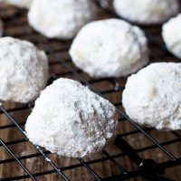 Sandies Mexican wedding cookies recipe