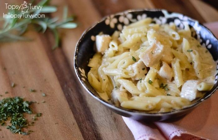 chicken-penne-creamy-pasta