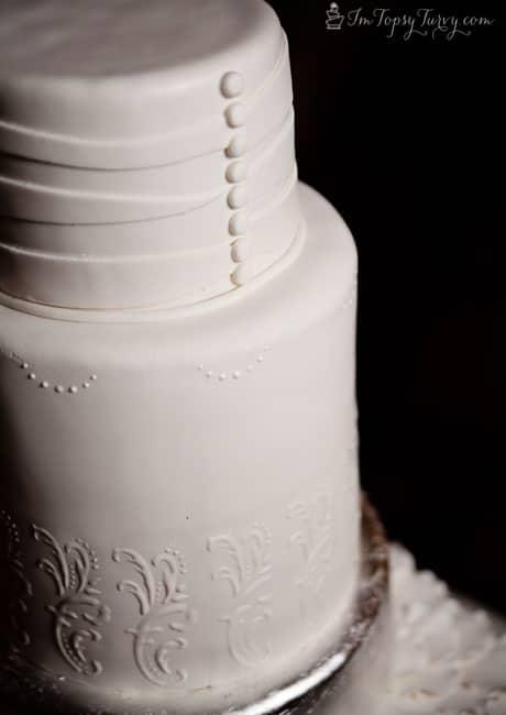 pleated-fondant-wedding-cakes