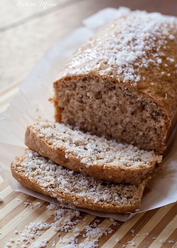 the most delicious coconut and pecan bread you'll ever have