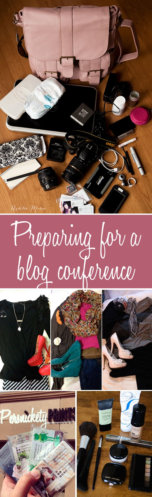 Ive attended over 20 blog conferences over the years and this is my packing list