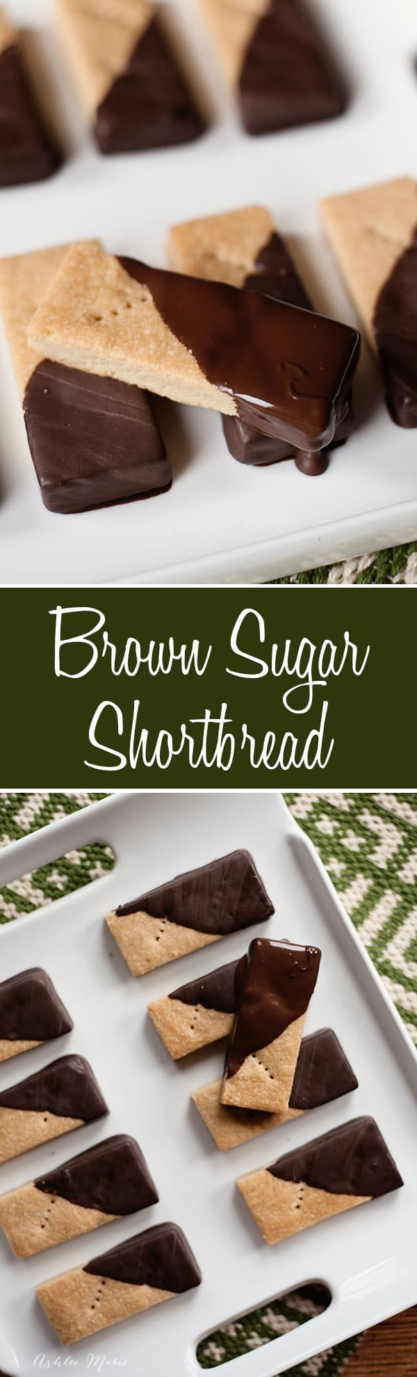 It doesnt get much better than shortbread cookies, crunchy and sweet, my favorite is brown sugar short bread, it adds a depth in flavor that I love