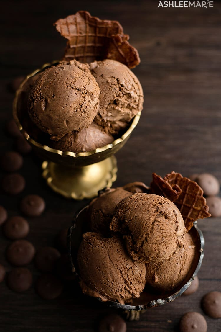 chocolate truffle ice cream