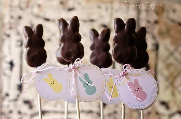 Easter gifts marshmallow peeps easter printables ashlee marie easter gifts tags marshmallow peeps easter printable negle Gallery