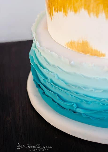 ombre-ruffled-birthday-cake