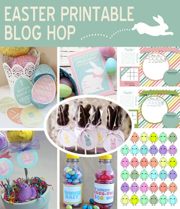 Easter gifts marshmallow peeps easter printables ashlee marie easter blog hop negle Gallery