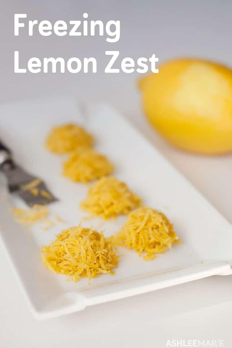 How To Freeze Lemon Rind Ashlee Marie