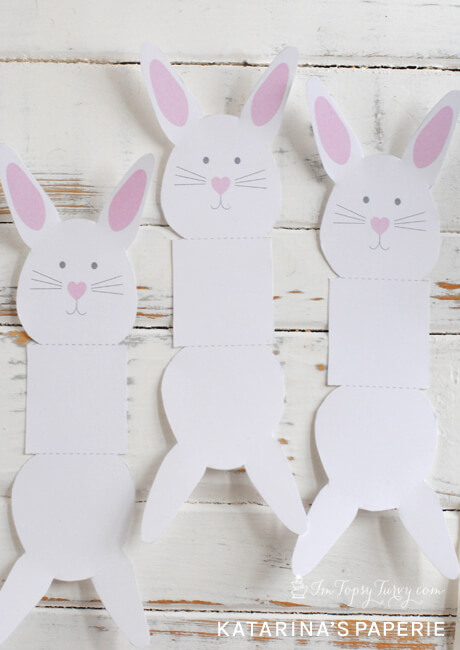 Printable Easter Bunny Lollipop Covers Ashlee Marie