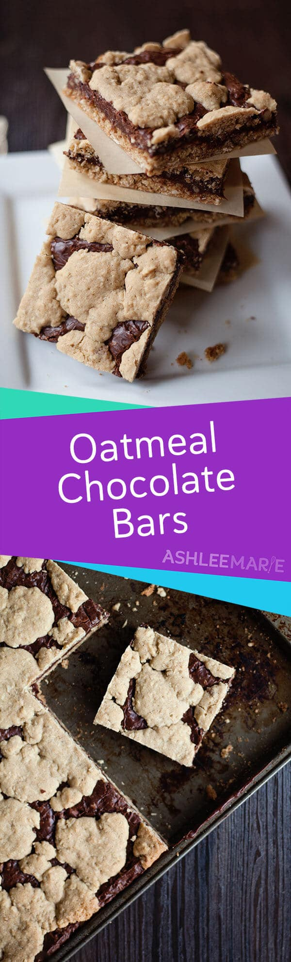 easy chocolate oatmeal bar recipe