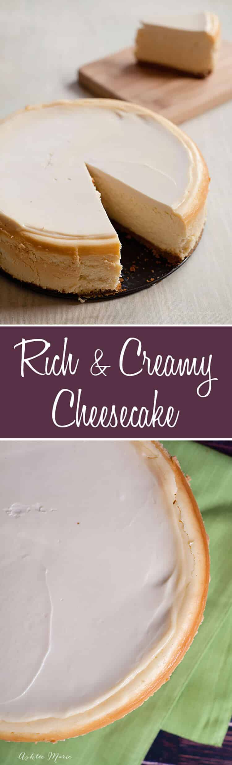 everyone loves cheesecake, a full video tutorial with the tips and tricks to get the perfect cheesecake with no cracks EVERY TIME