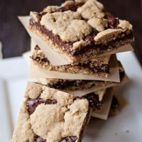 oatmeal chocolate bars