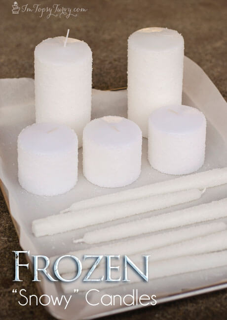 frozen-birthday-party-snowy-candles