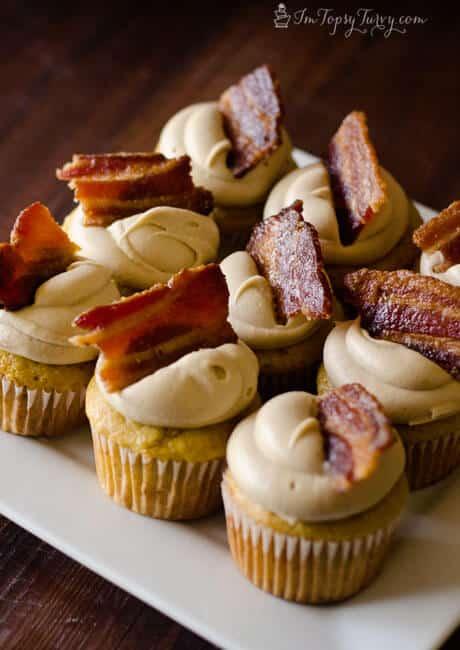 Maple Bacon Cupcakes | Ashlee Marie