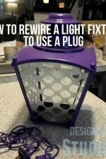 rewire-light-fixture