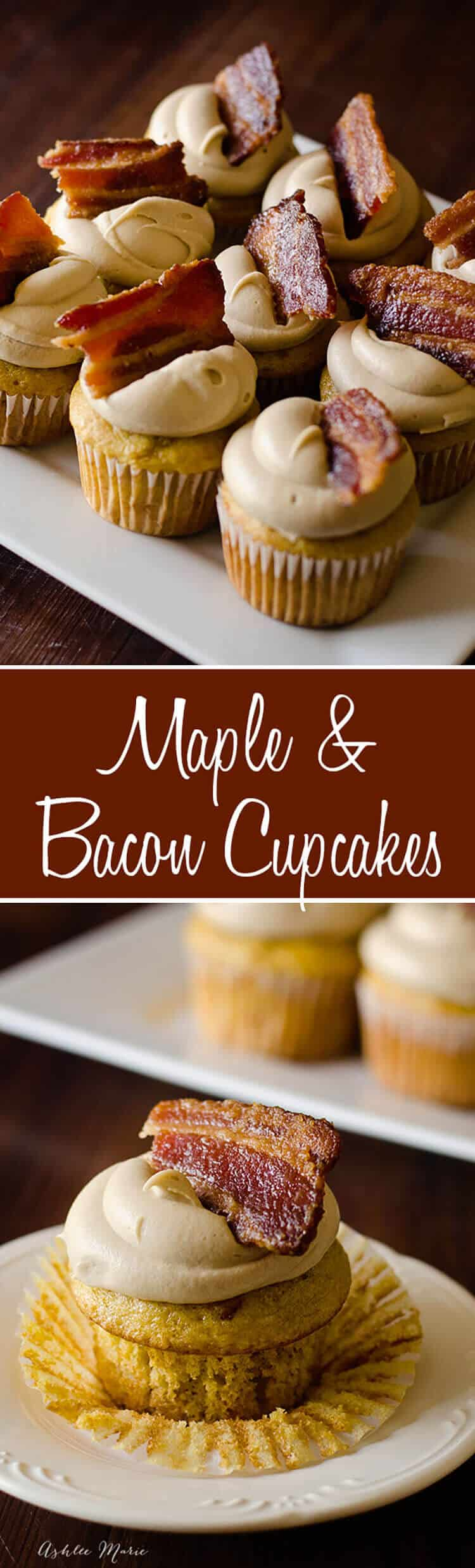 it does not get much better than candied bacon and maple, I mean its just so good. These cupcakes are easy to make and a huge hit with everyone. a copycat recipe from epcot