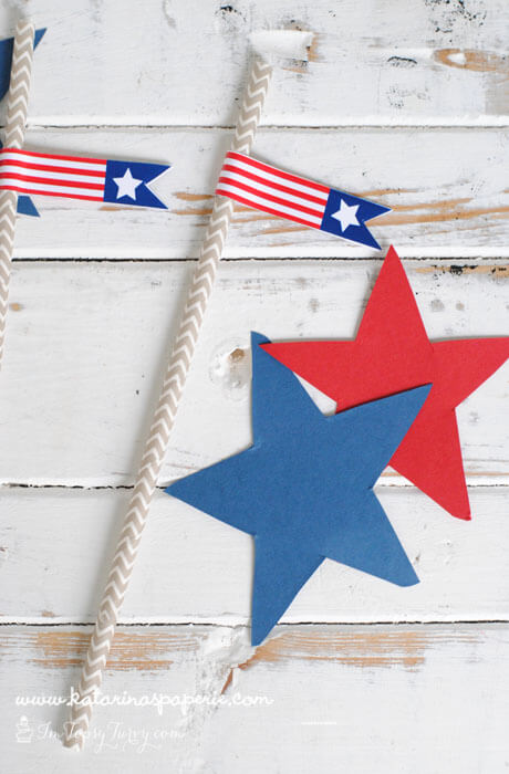 patriotic-party-flags-close-up