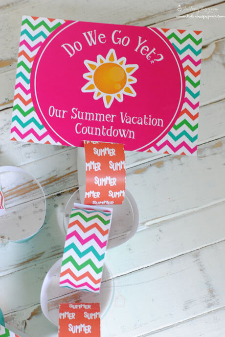 Free Printable Summer Vacation Countdown Calendar Ashlee
