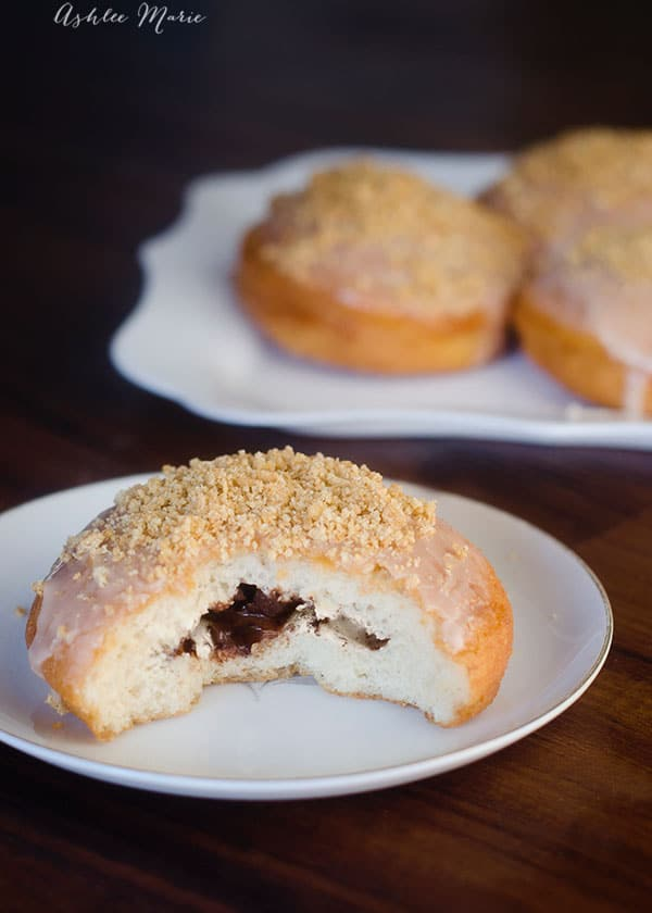 we love smores at our house, and making a donut version of one of my favorite treats is easy and delicious