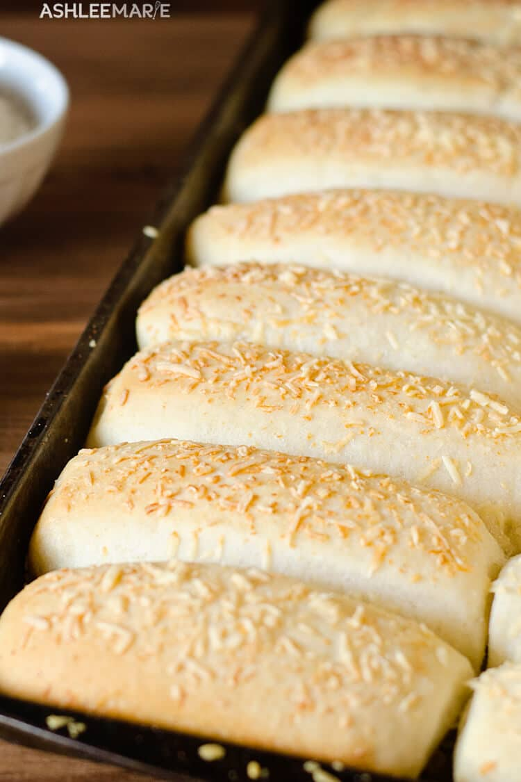 easy garlic parmesan breadsticks