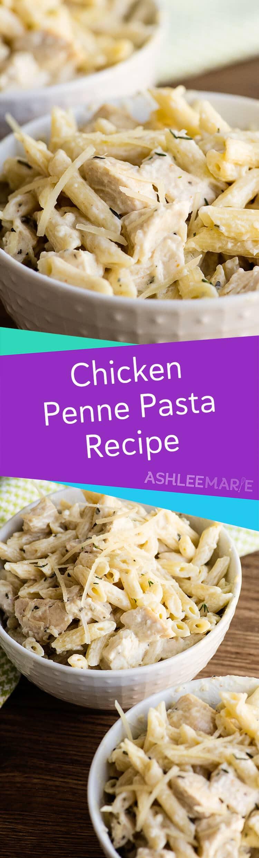 homemade chicken penne pasta recipe