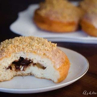 smores filled raised donuts