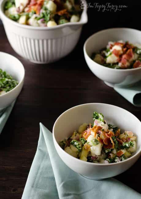 13 - Ashlee Marie - Kale Apple Potato Salad