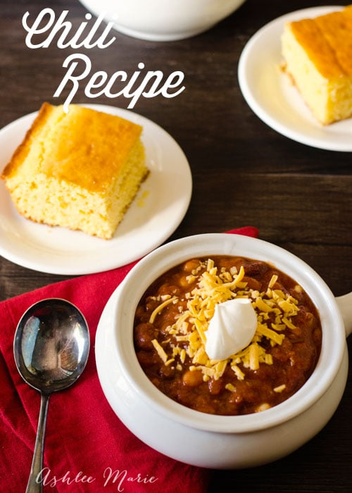 easy and delicious beef and bean chili recipe