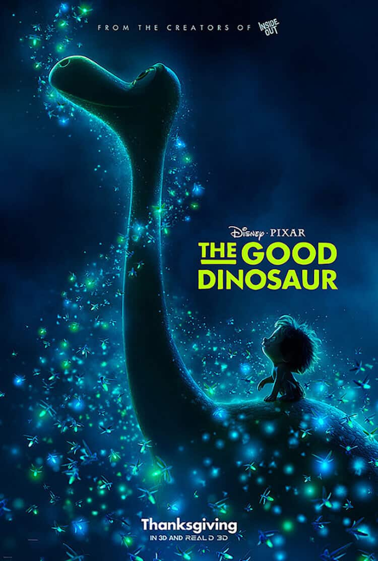 Little Spot on Arlo's back enjoying the fireflys, a glow in the dark cake, with a full video tutorial. Disneys The Good Dinosaur
