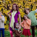 Scooby Doo family halloween costumes for kids