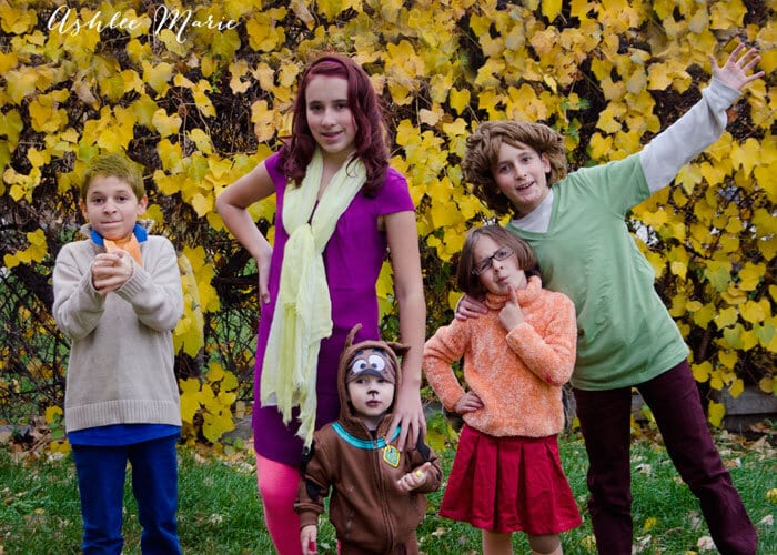 scooby doo family halloween costumes ashlee marie real fun with real food