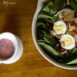 Spinach-Salad-Vinaigrette-Dressing