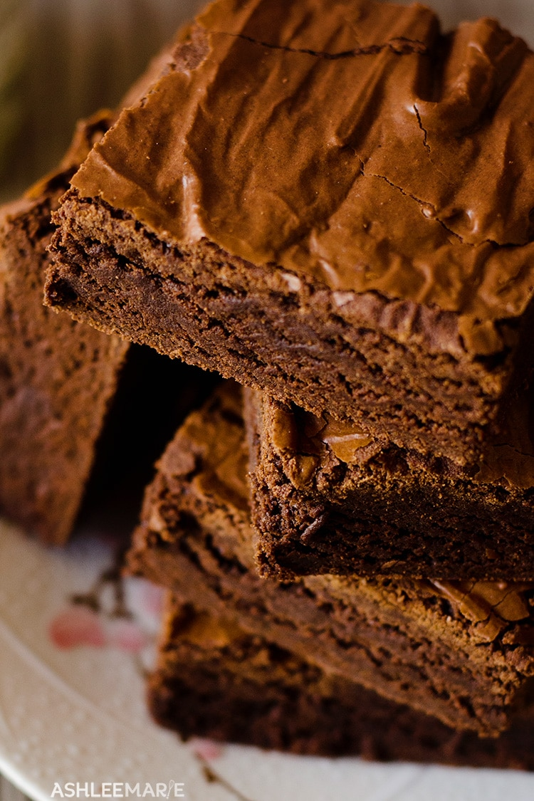 chocolate brownie recipe and video