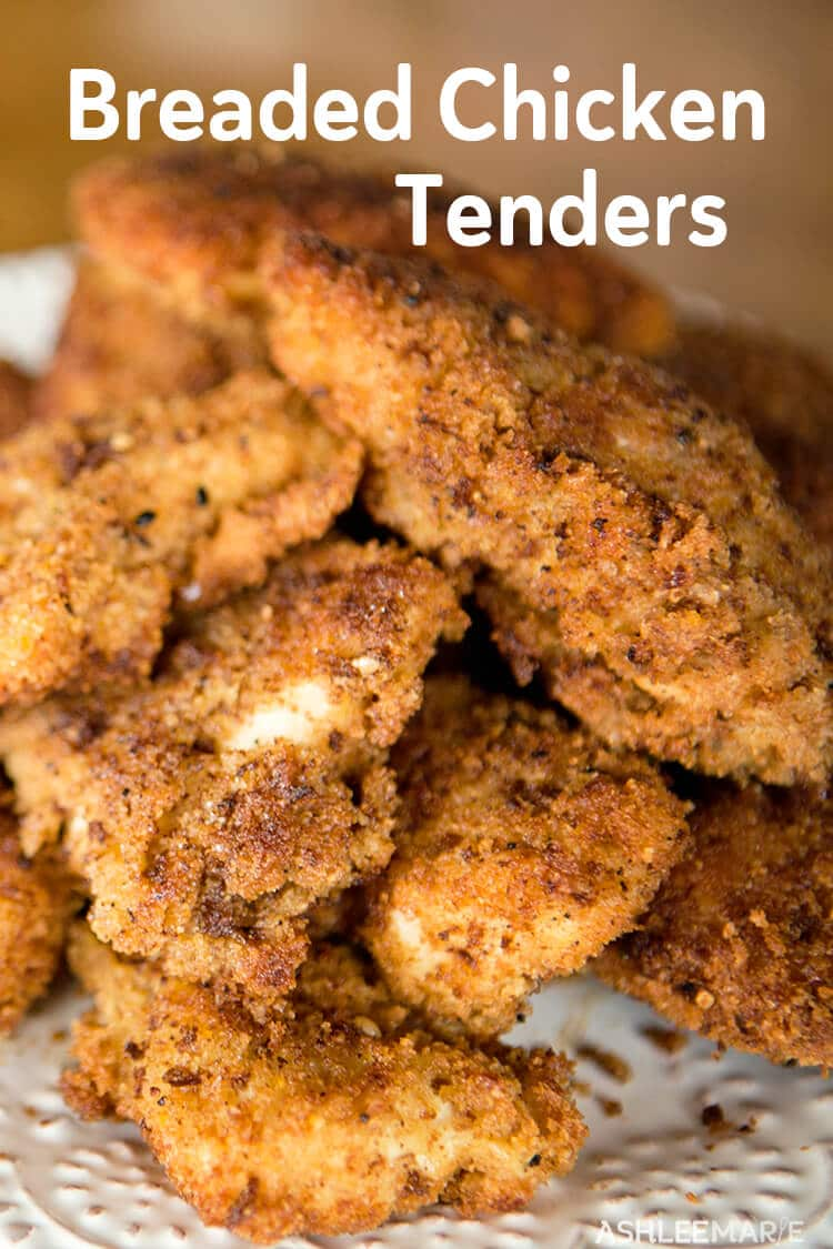 easy fried breaded chicken