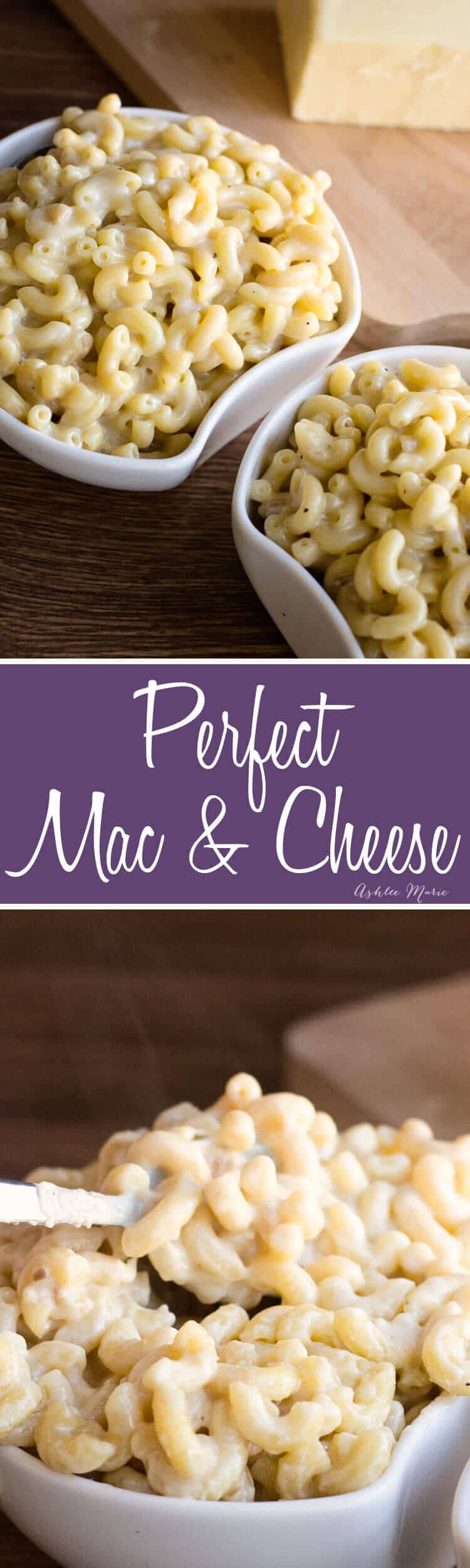 it doesn't get much better than homemade mac and cheese - esp this version with three types of white cheese and no fail sauce base!